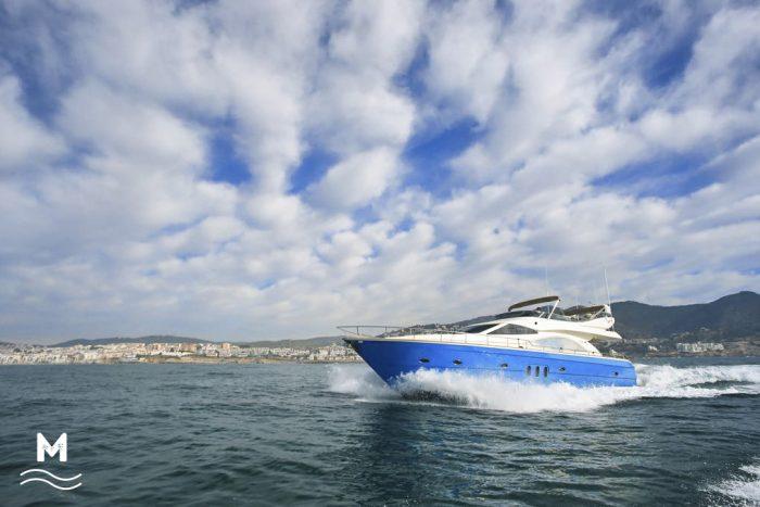 Astondoa 66 yacht in ibiza