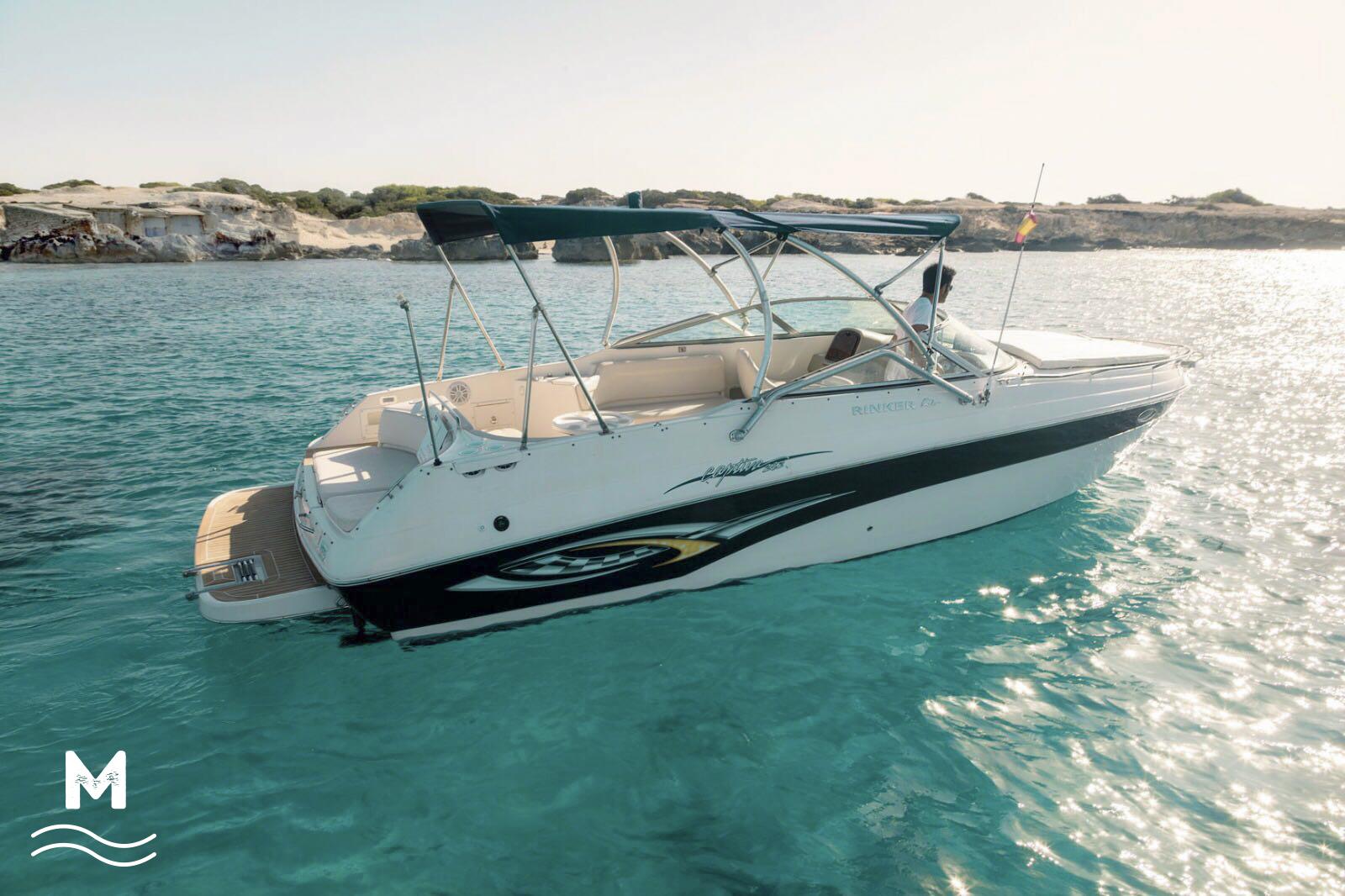 alquiler de lanchas baratas Ibiza