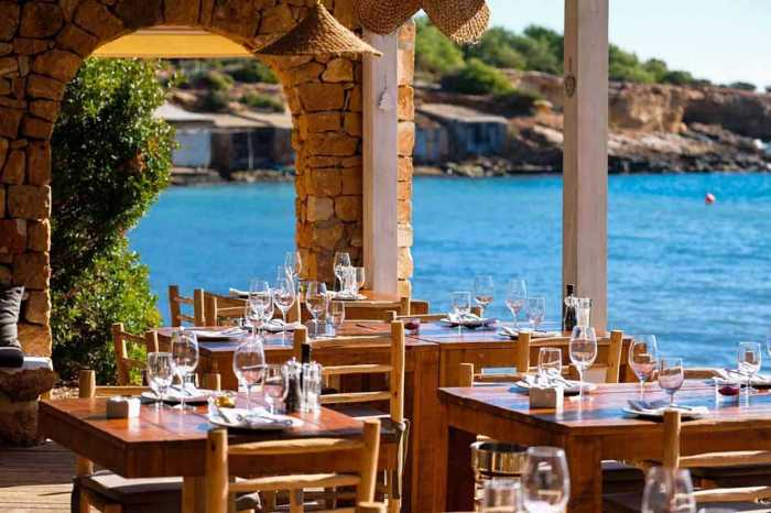 boat rental and gastronomic activities in ibiza
