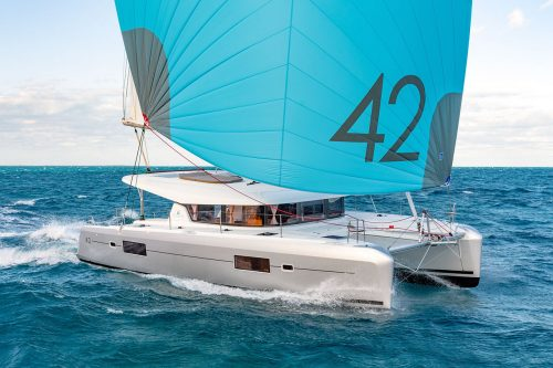 rent of catamaran lagoon 42 in Ibiza 9