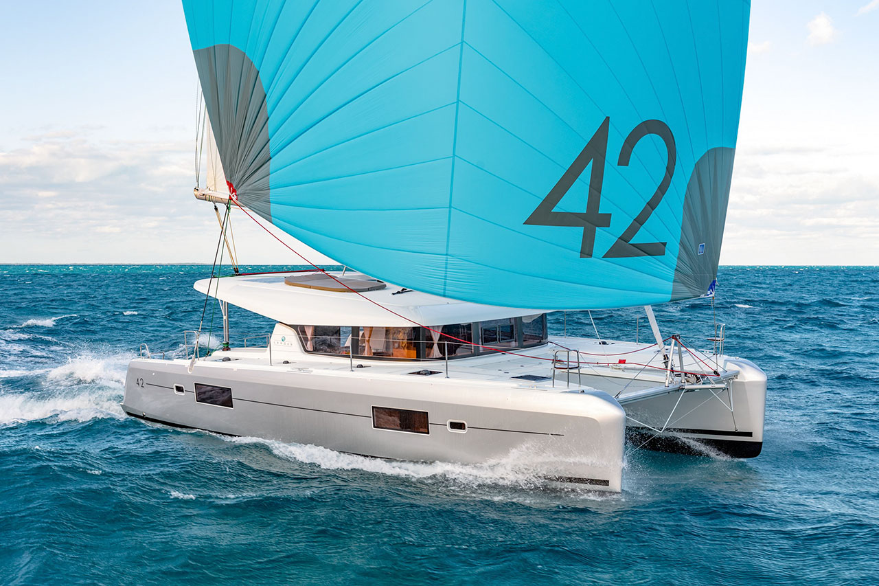rent of catamaran lagoon 42 in Ibiza 9