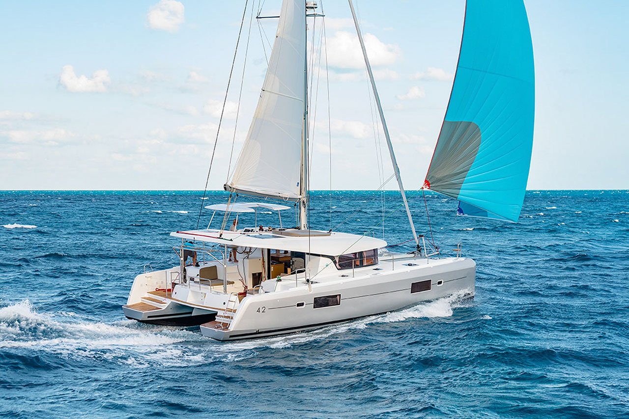 rent of catamaran lagoon 42 in Ibiza 8