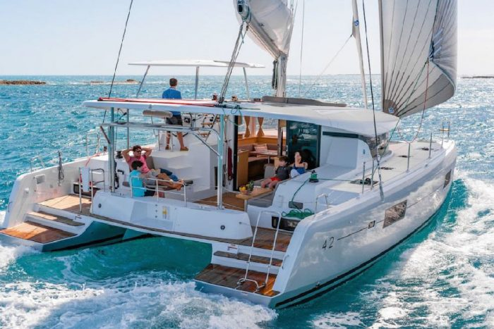 rent of catamaran lagoon 42 in Ibiza 7