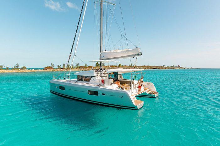 rent of catamaran lagoon 42 in Ibiza 6