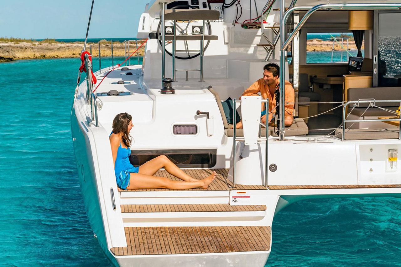 rent of catamaran lagoon 42 in Ibiza 4