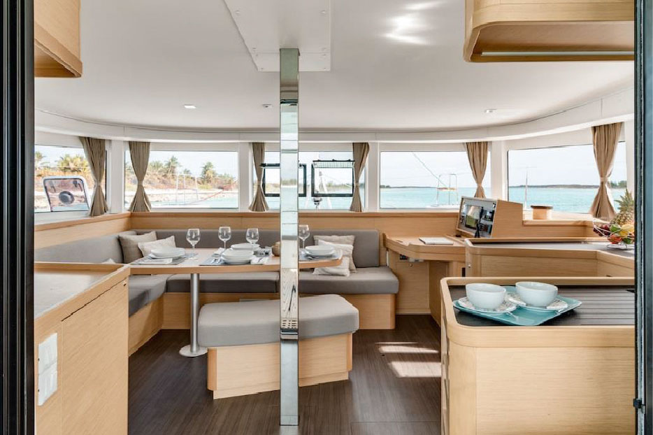 rent of catamaran lagoon 42 in Ibiza 3