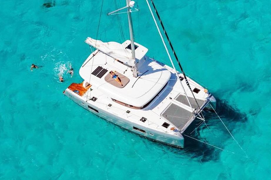 rent of catamaran lagoon 42 in Ibiza 2