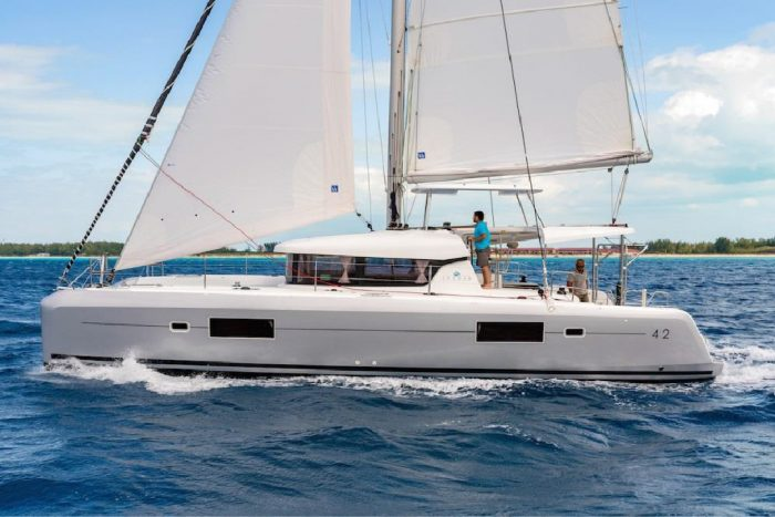 rent of catamaran lagoon 42 in Ibiza