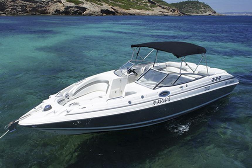Larson 288 LXi rent boat ibiza