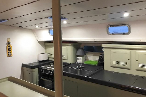 sailboat Beneteau Oceanis 50 Ibiza 4