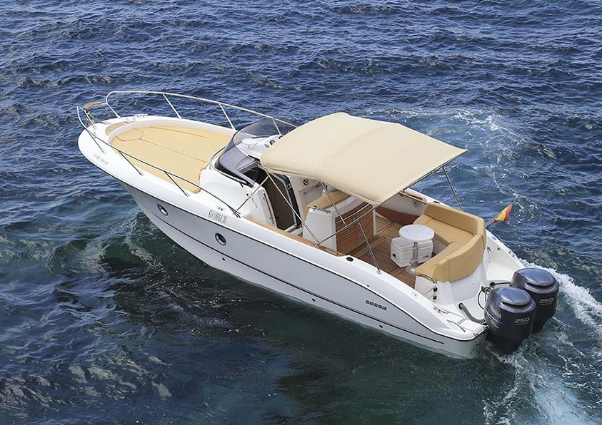 launch boat rental Ibiza