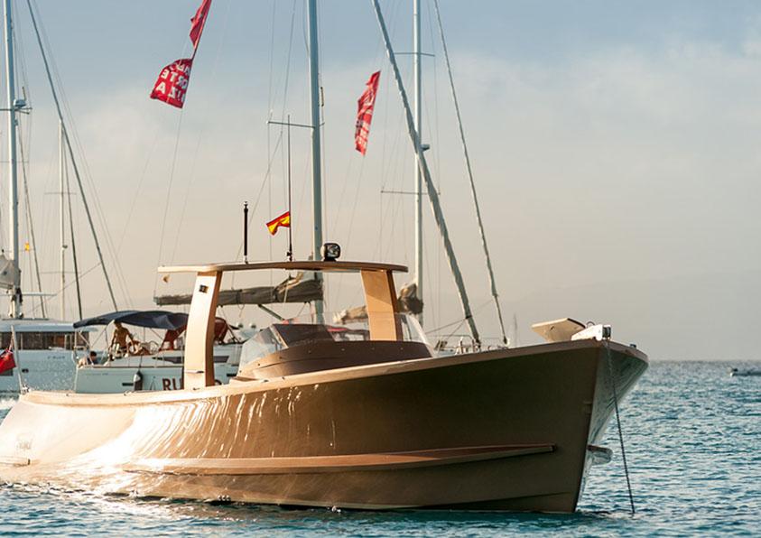 launch boat rental in ibiza spain
