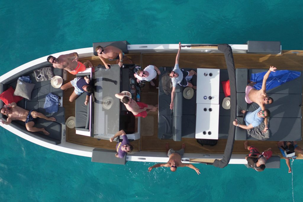 Smart Charter Ibiza with family, friends in summer 2019 in Ibiza