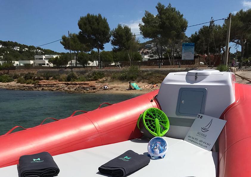 Alquiler de lanchas semirrigidas ibiza -rent boats ibiza